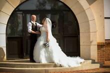 BARGAIN!!  STUNNING CHRISTINA ROSSI DESIGNER WEDDING GOWN Port Noarlunga Morphett Vale Area Preview