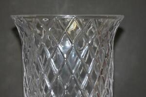 """Very Large crystal Vase   13"""" tall 7"""" across Kingston Kingston Area image 7"""