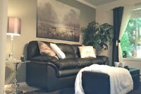 Lovely suite w/hot tub nr Ocean/Forest daily/weekly