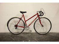 """Vintage Ladies PEUGEOT SPORT Racing Road Bike - 21"""" Frame - 12 Speed - Restored Classic"""
