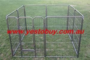 120cmH 8panel Pet Dog steel Playpen Cage pen fence Enclosure 30kg Mordialloc Kingston Area Preview