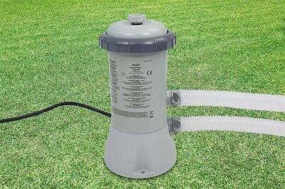 INTEX Gallon SWIMMING POOL Filter Pump Water Electric Cartridge Cleans Pumps