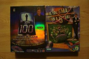 2 New DVD Games - 1 vs 100 & Are You Smarter Than 5th Grader?