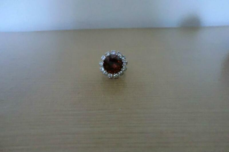Ring with Brown Stone