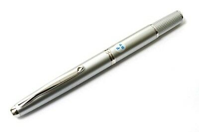 Pilot Fountain Pens Capless Fermo 18K F Diamond Silver FCF-2MR-DS-F from japan