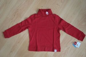 HBC Olympic Turtleneck Shirt - Red - Children's - Size 5 - NWT