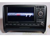 Genuine AUDI RNS-E Sat Nav GPS Navigation PLUS for TT in excellent condition