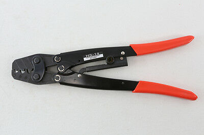Ratchet Terminal Crimper Non-insulated Cable Hs-14 Qc