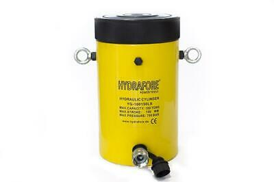 Single-acting Cylinder With Lock Nut 100tons 6 Yg-100150ls