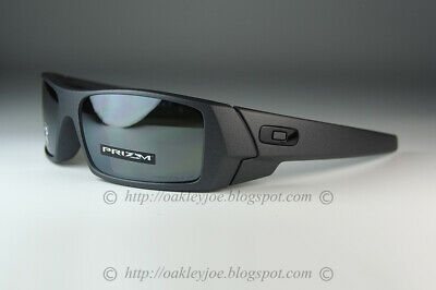 Oakley GASCAN POLARIZED Sunglasses OO9014-3560 Steel COLOR Frame W/ PRIZM (Black Oakley Gascan Sunglasses)