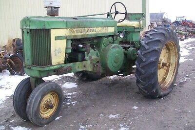 John Deere 720 Narrow Front Tractor