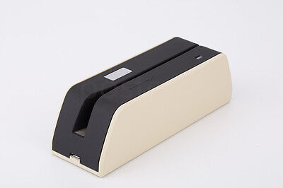 Portable Msr09 X6 Magnetic Magstripe Credit Card Reader Writer Encoder Msre206
