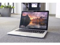 "13"" MACBOOK PRO RETINA ,8GB RAM, 256 GB SSD (GOOD OFFER)"