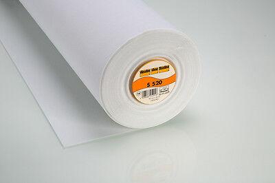 1m Vlieseline S520 Schabrackeneinlage Bügeleinlage Taschen Basteln 90cm breit