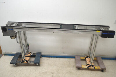 Rexroth Bosch As 2c-400 T-square Side-cleat Conveyor .45-kw 3-ph Chain-driven