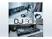 Dj School in Brighton (One to One tuition at Dj Box Studio )