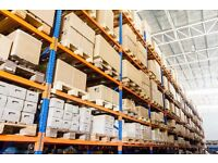 Warehouse Pallet Storage Available Near Stowmarket | Low Cost Storage From £2 per Pallet Per Week
