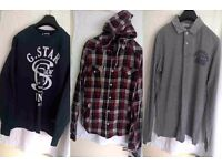 Gents Clothes Bundle (Shirts and Tops) - Condition: Good to New