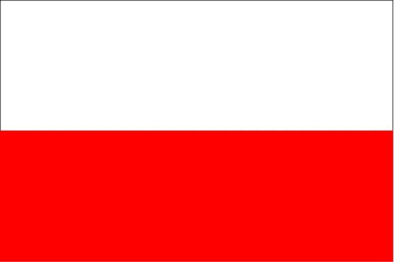 ***POLAND POLISH VINYL FLAG DECAL / STICKER***