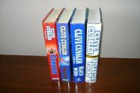 CLIVE CUSSLER - 4 HARDCOVER BOOKS