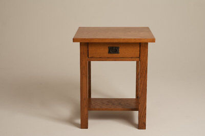 Mission Arts & Crafts Stickley style Nightstand Bed Side End Table, used for sale  Minneapolis