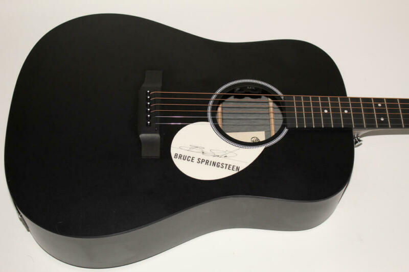 BRUCE SPRINGSTEEN SIGNED AUTOGRAPH C.F. MARTIN ACOUSTIC GUITAR - THE RIVER