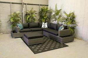 OUTDOOR Xtra Large Modular L shape lounge set Hendon Charles Sturt Area Preview
