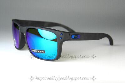 Oakley Holbrook POLARIZED Sunglasses OO9244-3556 Black Tortoise W/PRIZM Sapphire