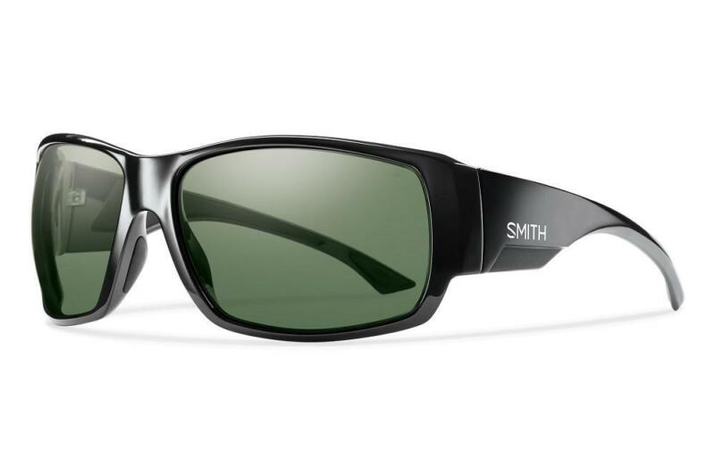 53e009a97b Smith Dockside Black Sunglasses w  Chromapop Polarized Gray Green Lens
