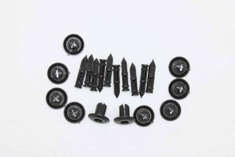 10X LEXUS 7-8mm Trims Clips Panel Retainer Rivet
