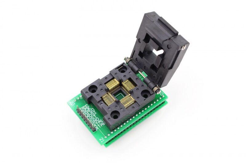 TQFP44 QFP44 PQFP44 To DIP40 IC Test Converter Socket Programmer Adapter 0.8mm