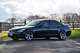 BMW E60 530i Auto Blue High Spec MOT 12 month