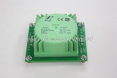 15w15va Green Cube Sealed Transformer 110v220v To 12v12v With Mounting Pcb