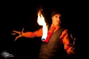 Fire Performer/fire twirler, LED glow shows and contact juggling Perth Perth City Area Preview