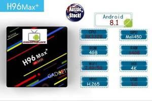 Latest H96 MAX Android 8.1 TV Box Kodi media 4gb ram/64gb storage Doveton Casey Area Preview