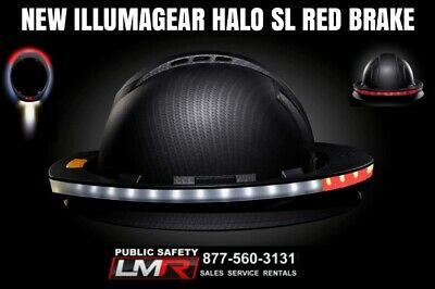 Illumagear Halo Sl Wireless Hard Hat Light Red Brake Light With Charger