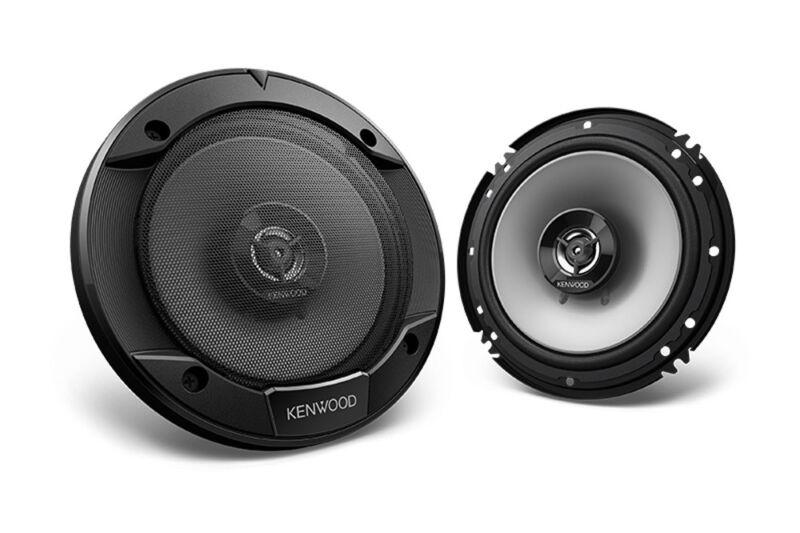 "Kenwood 6.5"" 2-Way Round Coaxial Car Speaker with 600W Max Power - KFC-1666S"