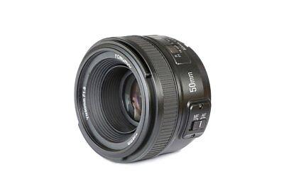 Yongnuo YN 50mm F/1.8 1:1.8 AF HD Standard Prime Lens for Ni