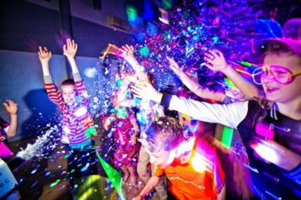 Kids Neon Glow Disco Party
