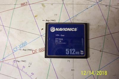 Boaters' Resale Shop of TX 1804 2051.61 NAVIONICS CF/16XG COMPACT FLASH CHART
