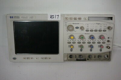 Agilent Infinium Oscilloscope 1.5 Ghz 8gsas Display Front Panel