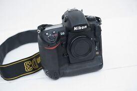 Nikon D3 Full Frame Pro Digital SLR Camera (Body only)