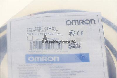1pc Omron Proximity Switch E2e-x2me1 12-24vdc New
