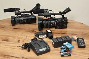 SONY Profesional Camcorders (HVR-Z7U + HVR-V1U)