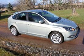 Ford Focus Titanium 1.6 - low mileage