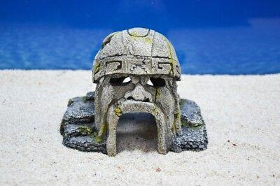 Decoración de Acuario Maya Cueva Miniatura Figura Accesorio Peces Amtra