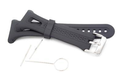 Smartwatch Armband GPS-Laufuhr schwarz für Garmin Forerunner 10, 15