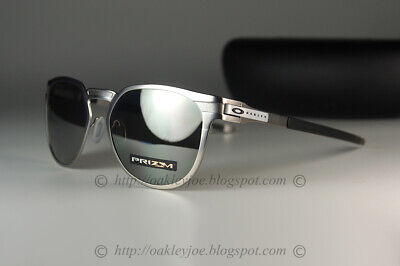 Oakley DIECUTTER Sunglasses OO4137-0155 Satin Chrome W/ PRIZM Black Lens