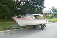 15 foot Fiberglass Runabout For Sale