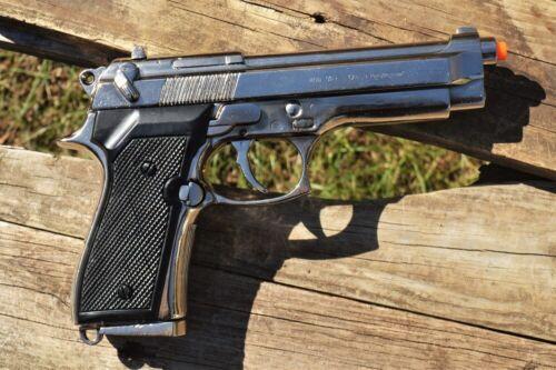 Non-Firing Beretta M92 Military Semi-Automatic 9mm Pistol - 92F - Denix Replica